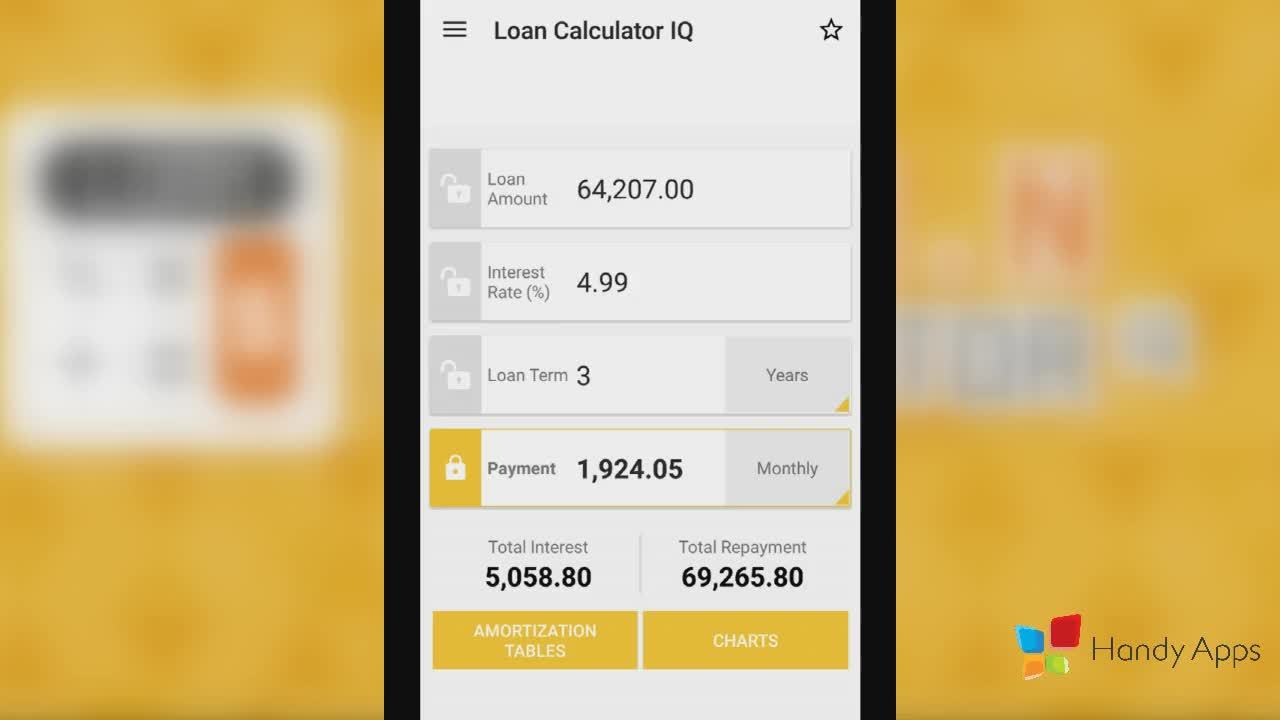 android, androiddev, apps, Loan Calculator - Saving Calculations GIFs