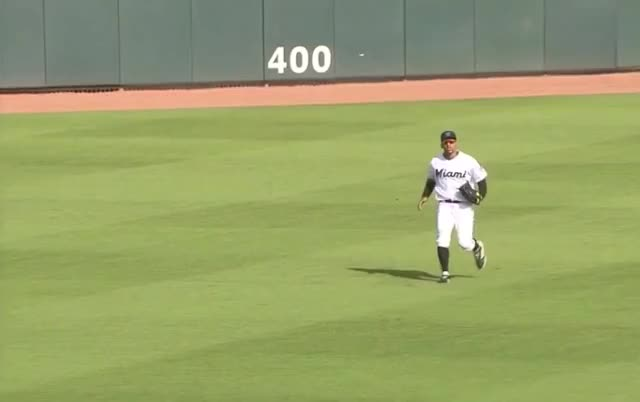 Watch marlins harold ramirez sliding catch spring GIF by Ely Sussman (@realely) on Gfycat. Discover more baseball, cardinals, catch, defense, harold ramirez, highlights, jupiter, marlins, mlb, outfield, roger dean, spring training GIFs on Gfycat