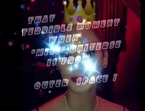 Watch alien GIF on Gfycat. Discover more alien, miss universe GIFs on Gfycat