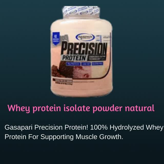Watch and share Whey Protein Isolate Powder Natural GIFs by supplementhub on Gfycat