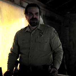 dancing, david harbour, stranger things, tumblr_oylr2gQ0gE1tvua8uo3_400.gif GIFs