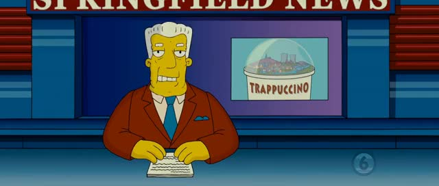 Watch and share Kent Brockman - Saggy Face GIFs on Gfycat