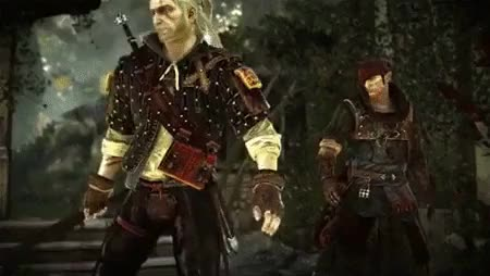 Watch and share I Couldnt Help It GIFs and Geralt Of Rivia GIFs on Gfycat