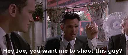 Watch and share Quentin Tarantino GIFs and Michael Madsen GIFs on Gfycat