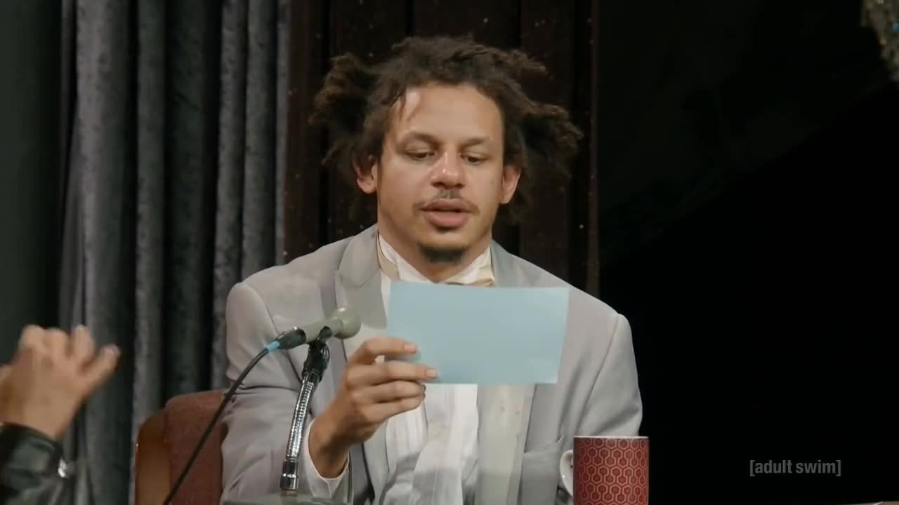 eric andre, The Eric Andre Show - Amber Rose Interview (S04E07) GIFs