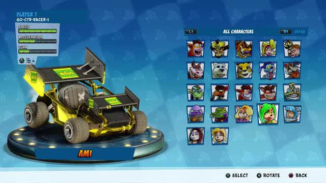 Watch and share Crash Team Racing GIFs and Character Select GIFs on Gfycat