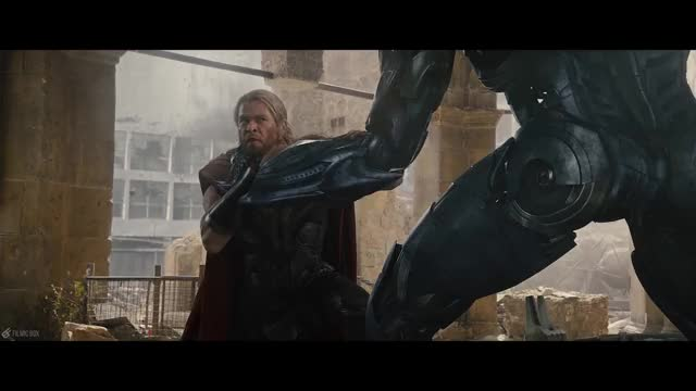 Watch Ultron holds Thor GIF by Subline (@subline) on Gfycat. Discover more avengers, avengers vs ultron, fight scene, final battle, final battle vs ultron, final fight, final fight vs ultron, scene, the avengers, ultron GIFs on Gfycat