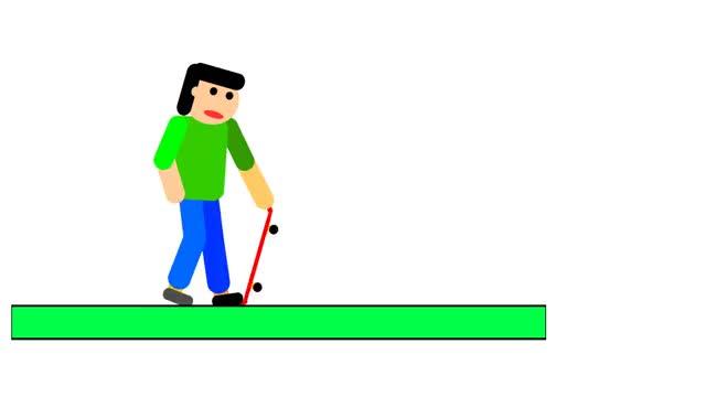 Watch skateboard GIF by @rangerkazze on Gfycat. Discover more related GIFs on Gfycat