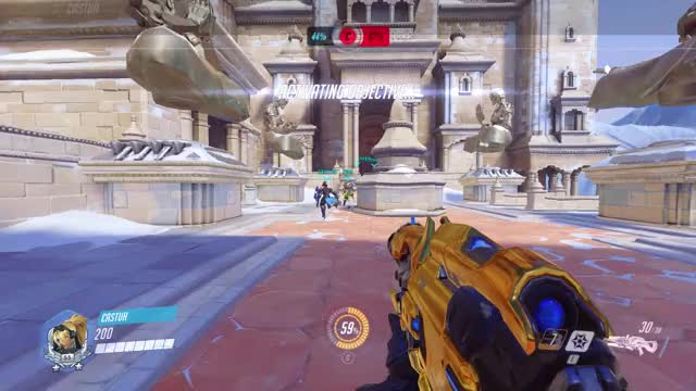 Watch Castuh - flick at the blur GIF by @castuh on Gfycat. Discover more Castuh, Flick, Flickshot, Headshot, Overwatch, Tracer, Widow, widowmaker GIFs on Gfycat