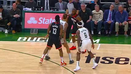 Watch and share Chris Paul — Houston Rockets GIFs by Off-Hand on Gfycat