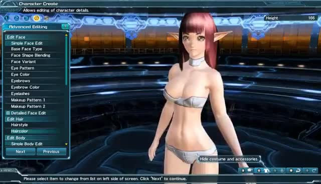 PSO2 - Super bouncy GIFs