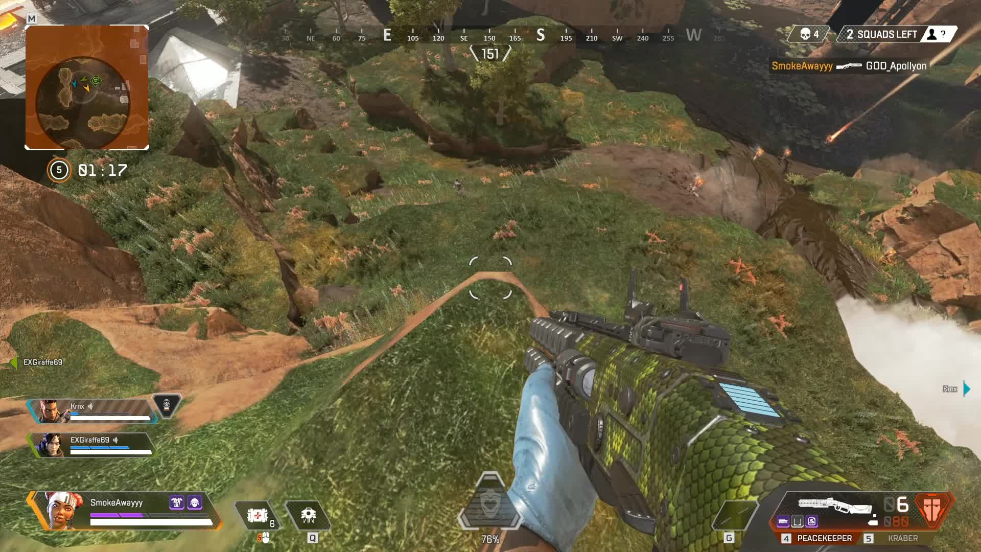 Apex, Legends, Apex Legends Kraber Sniper GIFs