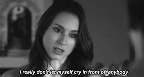 Watch and share Troian Bellisario GIFs and Llorar GIFs on Gfycat