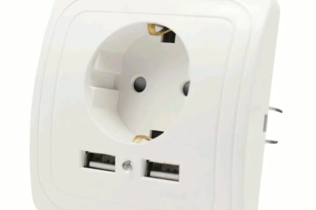 Watch and share BCSONGBEN DUAL USB PORT WALL CHARGER ADAPTER GIFs by profitablegadgets on Gfycat