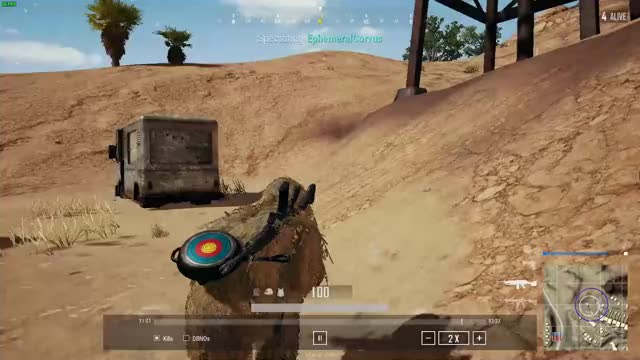 Watch and share PUBG - Ghillie Win Short GIFs by Corvus on Gfycat