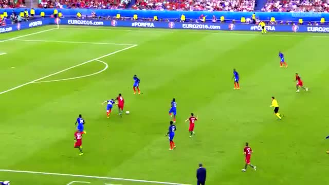 Watch and share Eder Goal Vs France Euro 2016 GIFs by FIFPRO Stats on Gfycat
