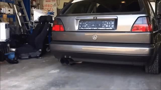 Watch and share VW Golf MK2 VR6 Turbo Short GIFs on Gfycat