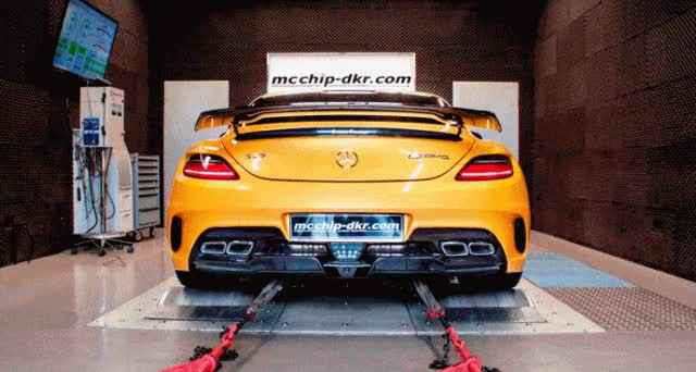 Watch and share Tuner Showcase – SLS AMG Black Series By McChip DKR GIFs on Gfycat