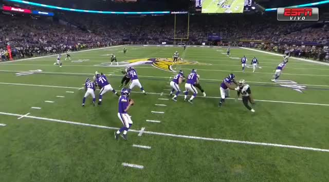 Watch NFL GIF by Luiz Rezende (@luizrezendejr) on Gfycat. Discover more Minnesota Vikings, NFL, New Orleans Saints, Playoffs, Touchdown GIFs on Gfycat