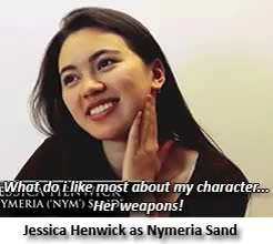Watch this jessica henwick GIF on Gfycat. Discover more a song of ice and fire, alexander siddig, areo hotah, asoiaf, deobia oparei, doran martell, edit, game of thrones, gif, got, gotedit, gotgif, gotinterview, hbo, high sparrow, interview, jessica henwick, jonathan pryce, keisha castle-hughes, myrcella baratheon, nell tiger free, nymeria sand, obara sand, rosabell laurenti sellers, sdcc, season 5, toby sebastian, trystane martell, tyene sand GIFs on Gfycat