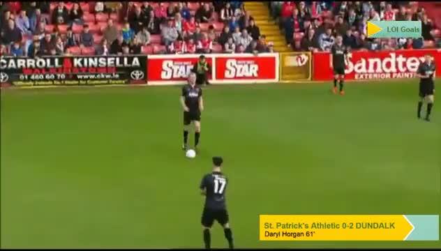 Watch and share Daryl Horgan (@DundalkFC) 61' Goal Vs. @stpatsfc GIFs by loigoals on Gfycat