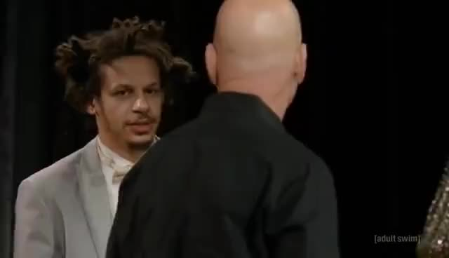 Watch The Eric Andre Show - Howie Mandel Interview (S04E03) GIF on Gfycat. Discover more related GIFs on Gfycat