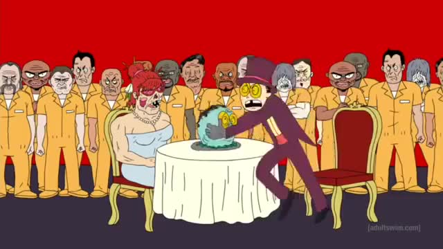 Watch Superjail the warden battles the inmates GIF on Gfycat. Discover more dream, nightmare, super jail GIFs on Gfycat