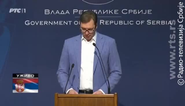"Watch and share Vučić: ""Poslednje Upozorenje Albancima"" GIFs on Gfycat"