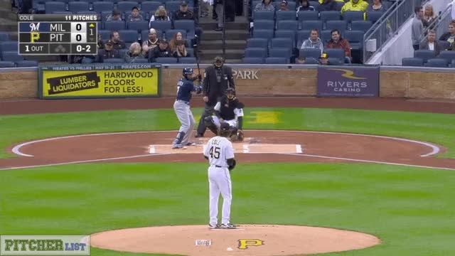 Watch and share Gerrit Cole CB 5-6-17 GIFs on Gfycat