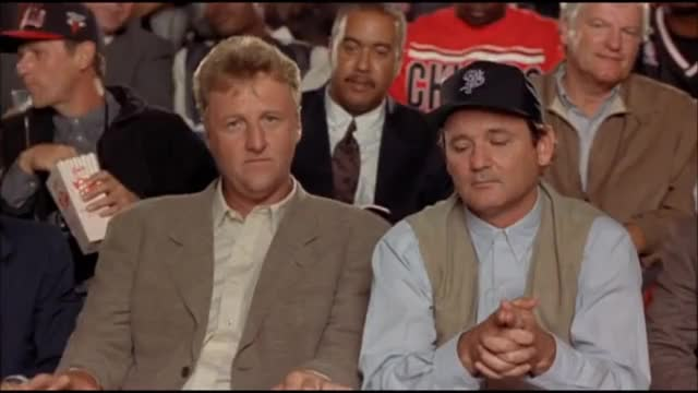 Watch and share Bill Murray GIFs and Larry Bird GIFs on Gfycat