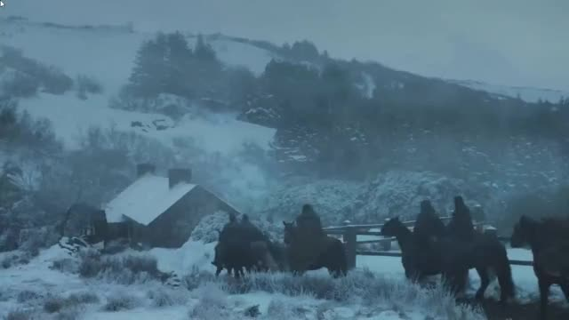 Watch and share Game Of Thrones 7x1 | The Hound & The Brotherhood Scene GIFs on Gfycat