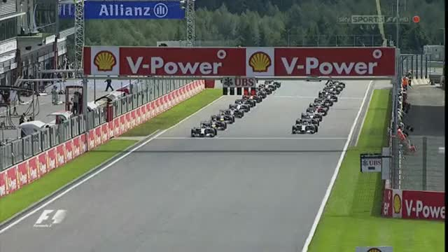 Watch and share 2014 Belgian GP - GP Start GIFs by aamantubillah on Gfycat