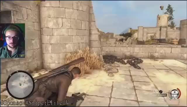 Watch and share Le Chant Des Parmesans - Sniper Elite 4 - #Sponso Benzaie Live GIFs on Gfycat