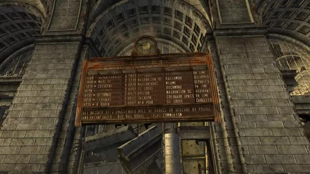 Watch and share TTW Union Station Sign GIFs by Callen151 on Gfycat