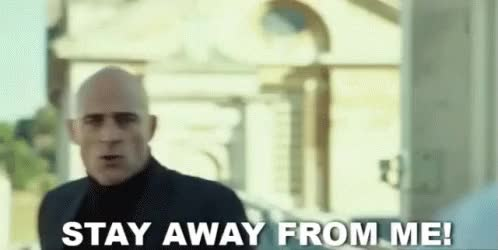Watch Stay Away From Me! GIF on Gfycat. Discover more related GIFs on Gfycat