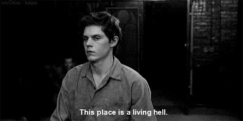 Watch psycho crazy GIF on Gfycat. Discover more evan peters GIFs on Gfycat