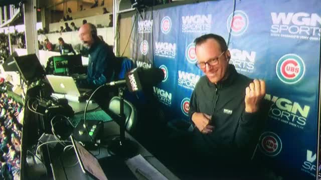 Watch and share Len JD Cubs Dancing GIFs on Gfycat