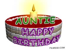Watch and share Happy Birthday Auntie GIFs on Gfycat