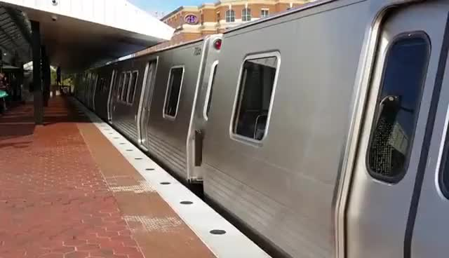 Watch and share WMATA 7000-Series Train Departing King Street-Old Town GIFs on Gfycat