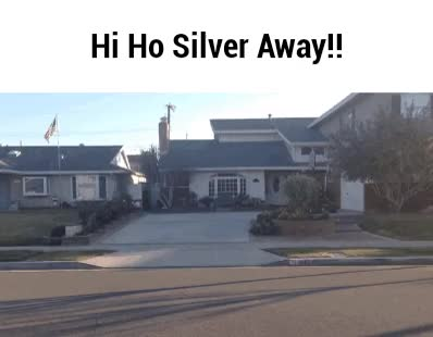 Watch and share Hi Ho Silver Away!! By Boeingboeing2  Watch Digital Art / Animation GIFs on Gfycat