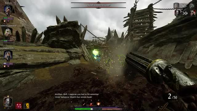 Watch and share Vermintide 2 GIFs and Ribspreader GIFs by i2ain_ on Gfycat