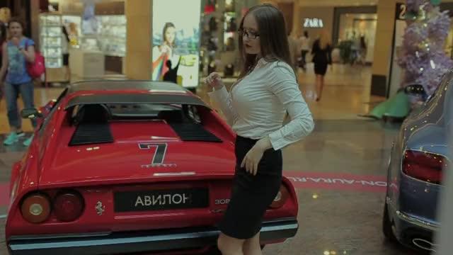 Watch ferrari & girl GIF by Дмитрий Филатов (@dimafilatoff) on Gfycat. Discover more ferrari, girl GIFs on Gfycat