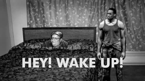 coffee, sleepy, tired, wake, wake up, Hey Wake Up GIFs