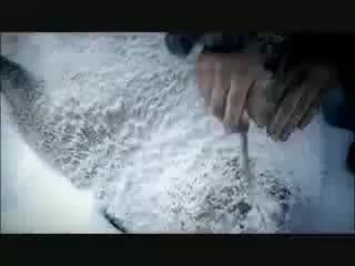 ice age columbus zia cutting seal meat, Ice Age Columbus 01 GIFs