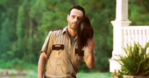 Watch Andrew Lincoln is king GIF on Gfycat. Discover more andrew lincoln, cherokee rose, church of rick grimes, he's beautiful, mygifs, officer friendly, rick grimes, the walking dead, twd GIFs on Gfycat