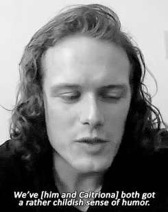Sam Heughan Interview Gifs Search | Search & Share on Homdor
