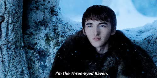 Watch and share Three Eyed Raven GIFs and Brandon Stark GIFs on Gfycat