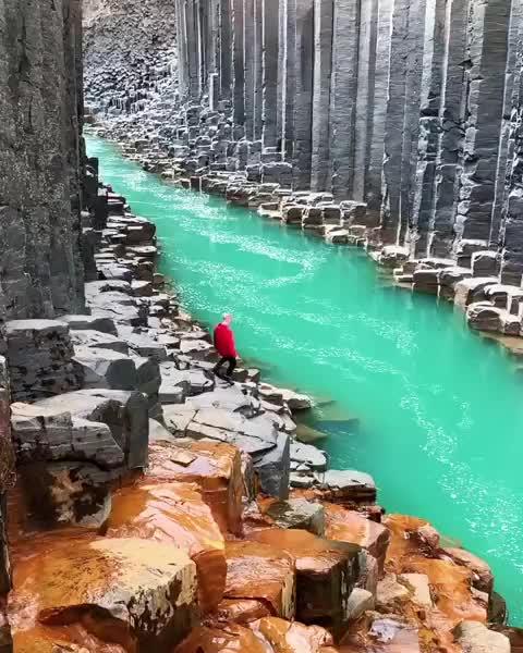iceland, Glacial gates Iceland GIFs
