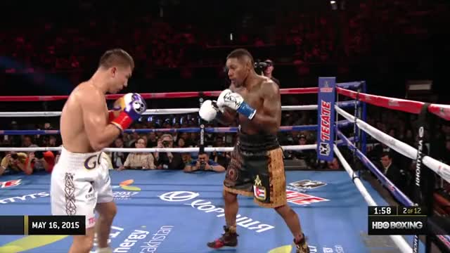 Watch Gennady Golovkin vs. Willie Monroe Jr. 2015 [Full Fight] GIF on Gfycat. Discover more boxing, hbo, hbo boxing GIFs on Gfycat