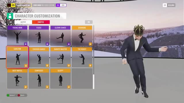 Forza Horizon 4 : ALL EMOTES forza horizon 4 emotes forza horizon 4 forza horizon forza fortnite fh4 dab YOISYgaming Gaming GIF